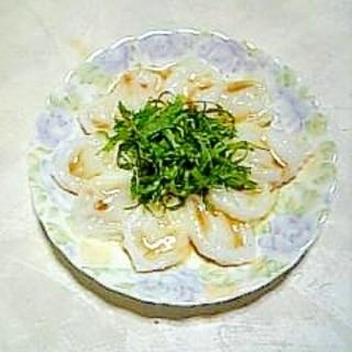 さっぱり☆生タコ青しそポン酢☆