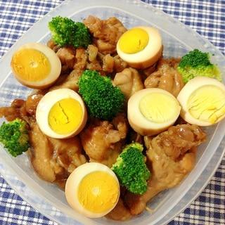 運動会のお弁当に☆手羽元のサッパリ煮