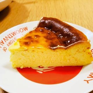 生クリームなし!さらに牛乳なしのバスクチーズケーキ