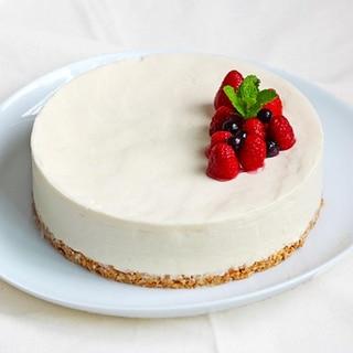 甘酒のレアチーズケーキ
