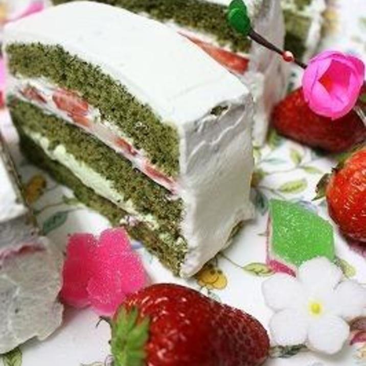 ロールケーキの生地で2種類のケーキを作っちゃおう♪