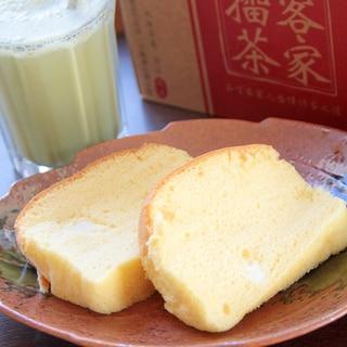 ふわふわ台湾風カステラ『現烤蛋糕』