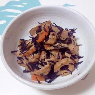 高野豆腐入り!ひじきの煮物++