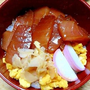 干瓢煮を混ぜた酢飯でちらし寿司風
