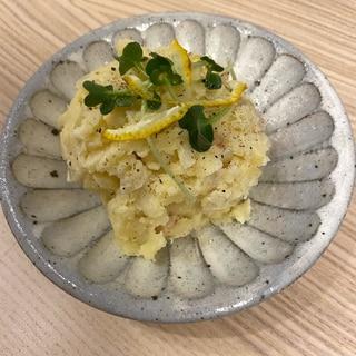寒い冬の日の【ゆずこしょうのポテトサラダ】
