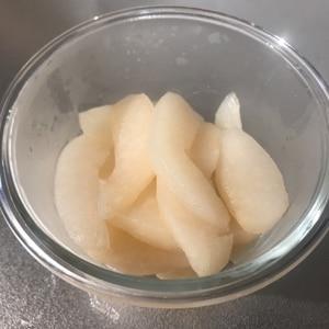 簡単!おいしい!梨のコンポート