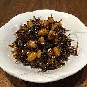 大豆とじゃこの生姜煮