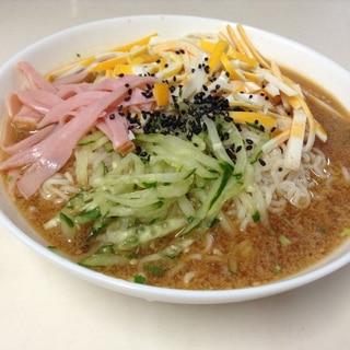 簡単!! 袋麺でアレンジ冷麺
