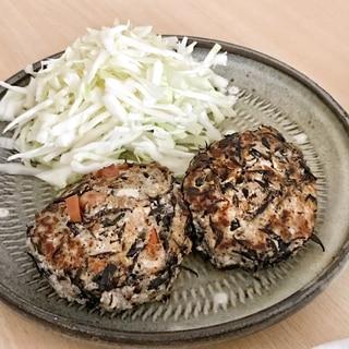 ひじき煮リメイク*豆腐ハンバーグ