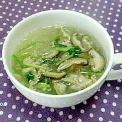 簡単♪春雨の中華スープ