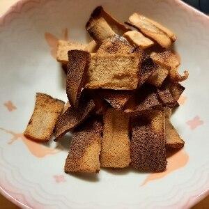 高野豆腐de☆パリ!ポリ!紅茶ラスク