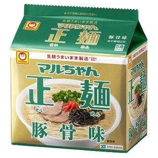 マルちゃん正麺 豚骨味 5食パック