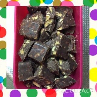 【糖質制限】アーモンドチョコもどき