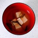 ニラと豆腐の味噌汁