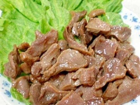 シンプルが一番☆砂肝の塩胡椒炒め。おつまみに☆
