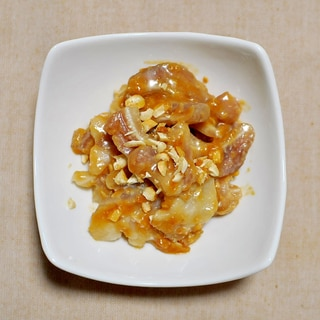 ミミガーのピーナッツ味噌和え