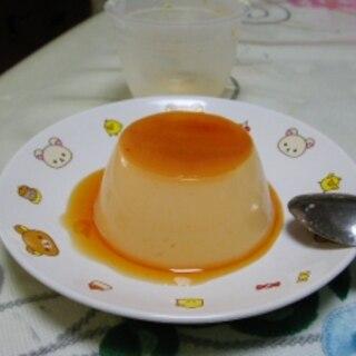 卵たっぷりレンジDEプリン