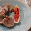 観音池ポークの南フランス風焼豚ロール・パプリカ風味