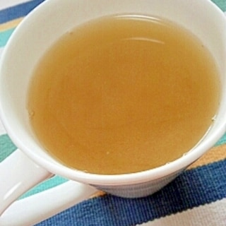 ホッと☆生姜湯で生姜玄米茶♪