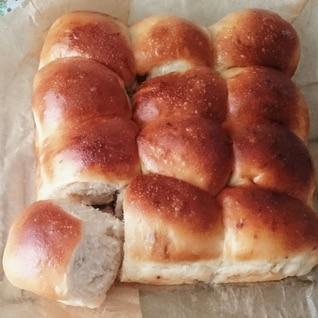 自家製酵母と甘酒のふんわりちぎりパン♪