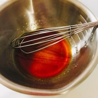 カツオのタタキのマリネソース