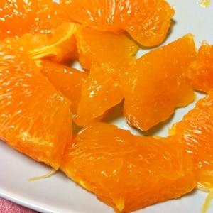 知ってると便利 オレンジの切り方
