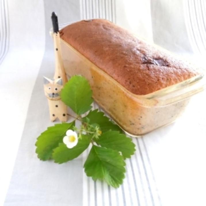 紅茶とチョコのパウンドケーキ
