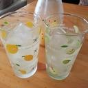 簡単手作りドリンク☆爽やかはちみつレモン