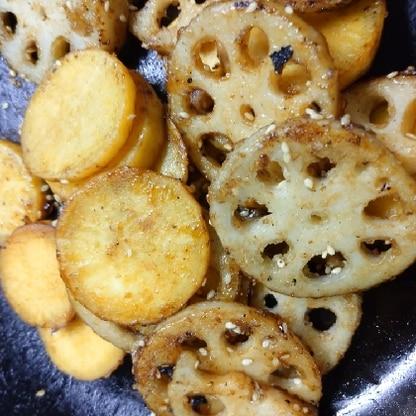 美味しかったです♪れんこんとさつまいもは、きんぴらとか天ぷらとかいつも同じようなのばっかりになってしまうので、ちょっと違うのができて嬉しいです(*^^*)