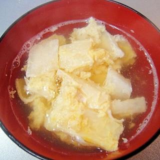 かんぴょうの卵とじ汁