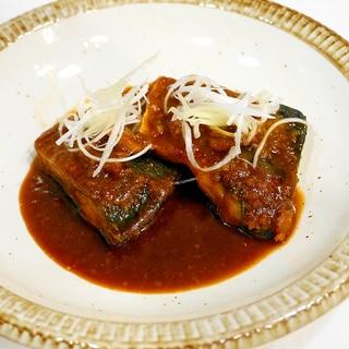 定食屋さんの本格的な味を再現!鯖の味噌煮