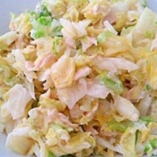 ツナのコールスローサラダ