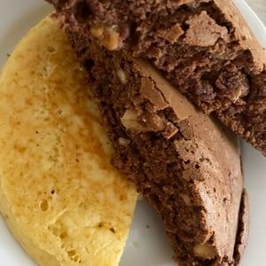 ホットケーキミックス&ココアパウダーでチョコケーキ