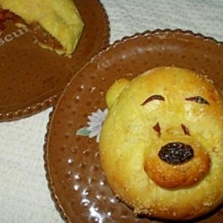 プーさん の焼きカレーパン