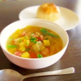 カラダぽかぽか★白菜のジンジャーコンソメスープ