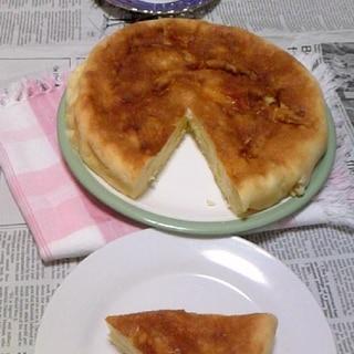 簡単♪炊飯器deりんごヨーグルトケーキ♪