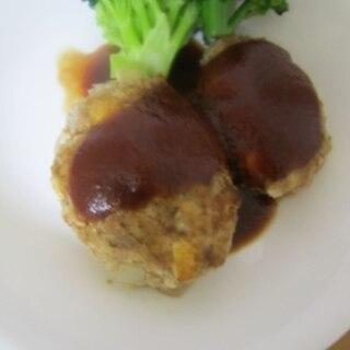 ☆合い挽き肉を使って☆豆腐ハンバーグ☆