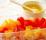 甘夏とトマトのサラダ♪甘夏ドレッシングで