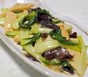 チンゲン菜とたけのこの中華煮