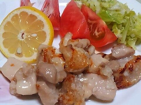 鶏モモ肉の塩糀焼き*