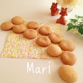 この比率✨材料③混ぜるだけさくほろカリッとクッキー