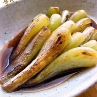 お芋みたいな食感です!★エシャロットの醤油炒め。