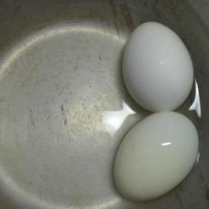 簡単に出来ました。 これからは気軽にゆで卵が作れます。 レシピありがとう!