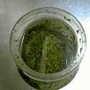 クルミで作るバジルペースト