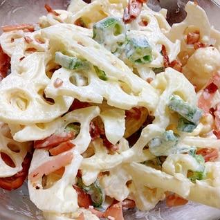 ☆彡オクラ☆彡 ◎レンコン◎ 入り惣菜風サラダ