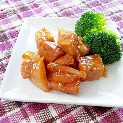 パワーチャージ!豚肉の甘辛スタミナ焼き