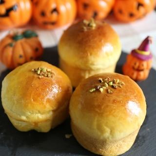 レーズンクリームチーズ入りかぼちゃパン
