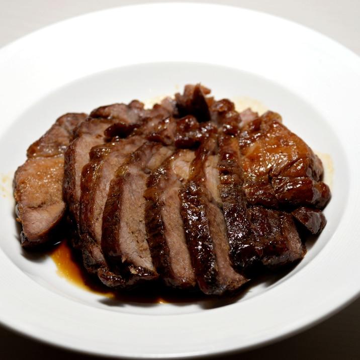 【スーパーの筋張った安肉でOK】揉みほぐし煮豚