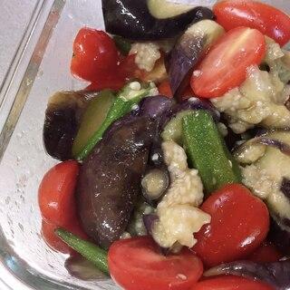 夏野菜の時短マリネ