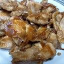 やわらか鶏むね肉にんにく醤油焼き